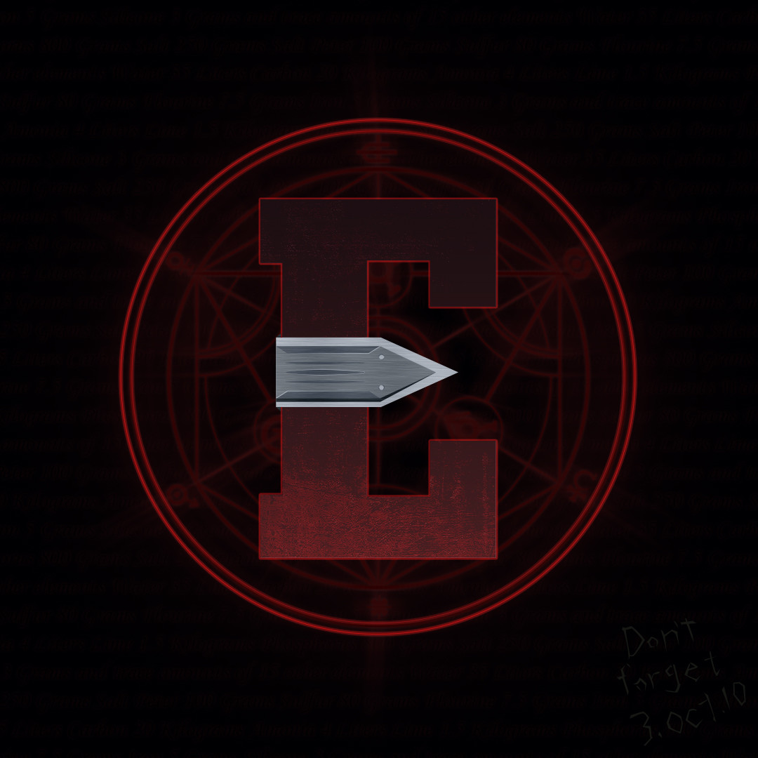 36 days of type challenge letter E for Edward Elric from Fullmetal Alchemist