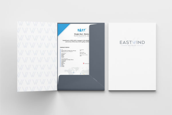 Eastwind Marine services envelope design