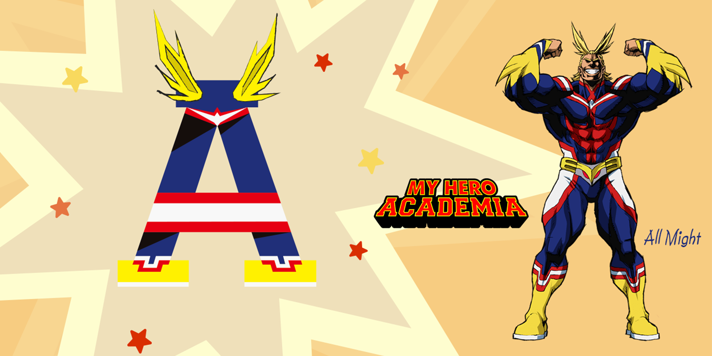 All Might from Boku no Hero Academia