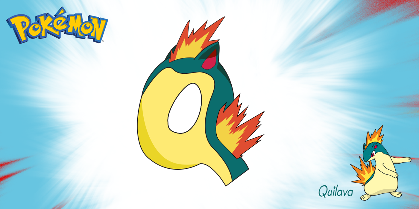 Quilava from Pokemon